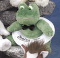"6"" GB Plush Beanies™ Frog"