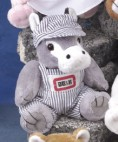 "6"" GB Plush Beanies™ Donkey"