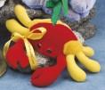 """7"""" - 8"""" Laying Beanies Crab"""