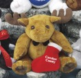 "6"" GB Plush Beanies™ Moose"