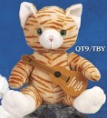 "9"" Q-Tee Collection™ Tabby Cat"
