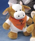 """9"""" Pudgy Plush™ Cow"""