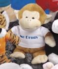 """9"""" Pudgy Plush™ Monkey"""
