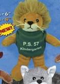 """6"""" Team Thrifty™ Lion"""