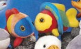 """7"""" - 8"""" Laying Beanies Fish (Assorted)"""