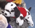 "7"" - 8"" Laying Beanies Dalmation"