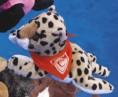 "7"" - 8"" Laying Beanies Cheetah"