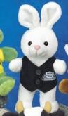 """7"""" - 8"""" Bean Bag Pals™ Bunny"""